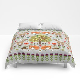 Woodland Wild Things Comforters
