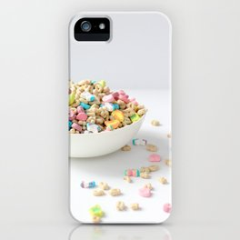 Bowl of Lucky Charms iPhone Case