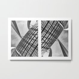 DNA of Gardens by the Bay Metal Print