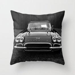 Classic Chevrolet Corvette  Throw Pillow