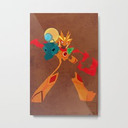 Sol Cross Metal Print
