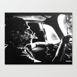 Bukowski's Sunday Drive Canvas Print