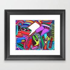 Eclectic Eaze Framed Art Print