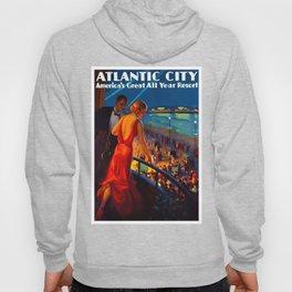 Atlantic City New Jersey Travel Hoody