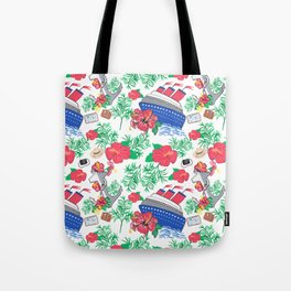 All Aboard the Cruise Ship Tote Bag