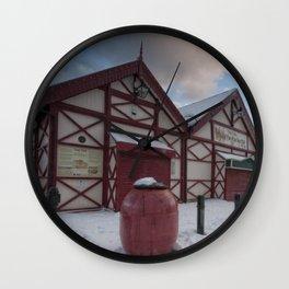 Saltburn Pier Wall Clock