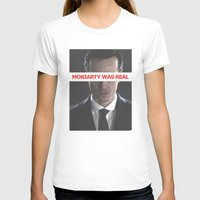 moriarty T-shirts featuring Moriarty Was Real / Moriarty / IV by Earl of Grey
