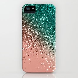 Cali Summer Vibes Lady Glitter #4 #shiny #decor #art #society6 iPhone Case