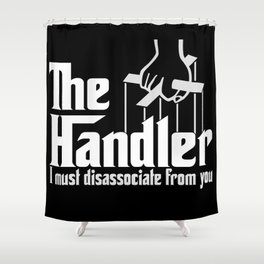 Muse the Handler Shower Curtain
