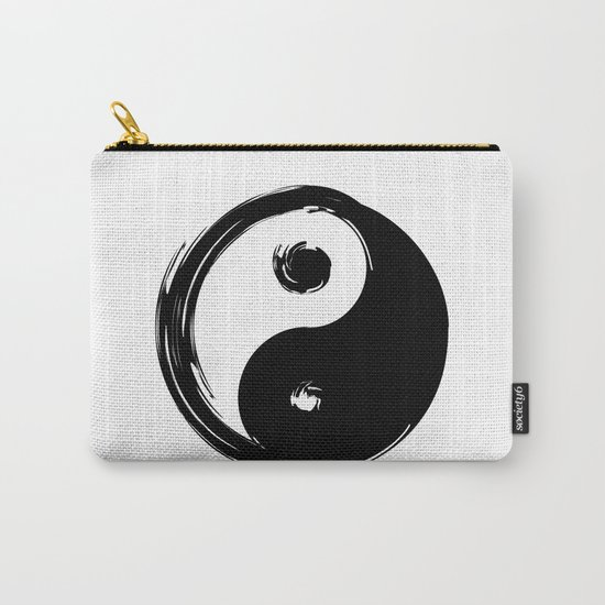Yin Yang Symbol Carry-All Pouch