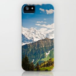 berner oberland, switzerland iPhone Case