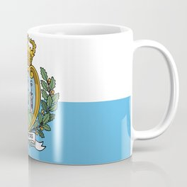 San Marino Flag Coffee Mug