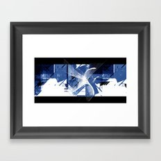 Digital Nation Framed Art Print