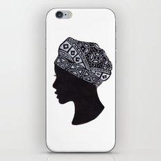 The Exotic of Turban Woman iPhone & iPod Skin