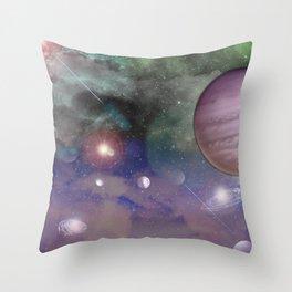 Galatic Throw Pillow