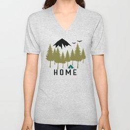 Wilderness Home Unisex V-Neck