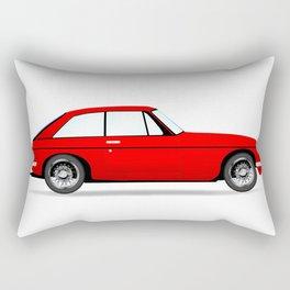 Sports Car Coupe Rectangular Pillow