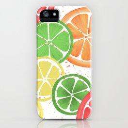 Citrus Party iPhone Case
