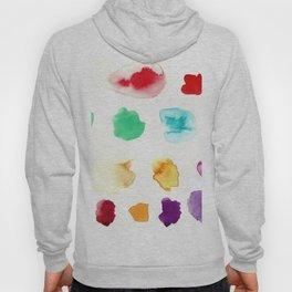 Watercolor Paint Splatter Hoody