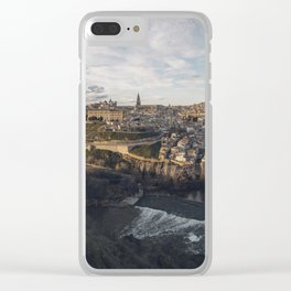 Toledo at sunset Clear iPhone Case