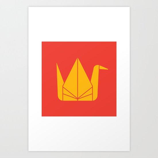 Japan Origami Art Print