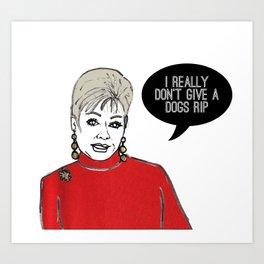 Momma Dee Art Print