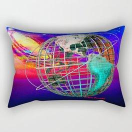 Earth and Andromeda Galaxy Rectangular Pillow