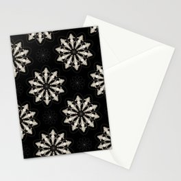 Wolf Skull Repeat Pattern Stationery Cards