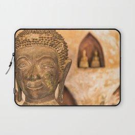 Wat Si Saket Buddhas VII, Vientiane, Laos Laptop Sleeve