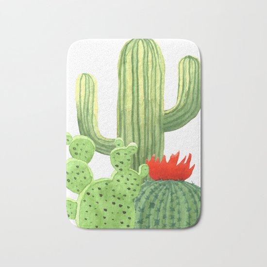 Perfect Cactus Bunch Bath Mat