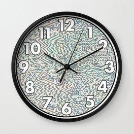 Noise Fields Wall Clock