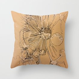 Dandelion #1 Throw Pillow