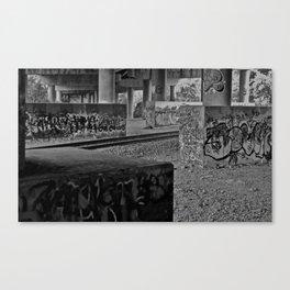 Colorblind Hooligans Canvas Print