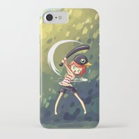 baseball iPhone & iPod Cases featuring Baseball by Freeminds