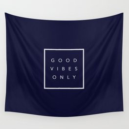 Good vibes only new shirt art vibe love cute hot 2018 style fashion sticker iphone cover case skin m Wall Tapestry