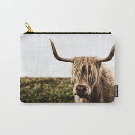 Highland Cow - color Carry-All Pouch