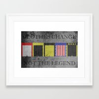 rocky Framed Art Prints featuring ROCKY by Christophe Chiozzi