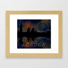 Panorama of London Framed Art Print