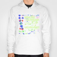 biology Hoodies featuring Conquer Biology by Leone Bachega