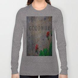 Goodwill Long Sleeve T-shirt