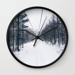 Powdered Paradise Photographic Print Wall Clock
