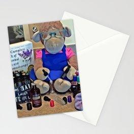 Aromatherapy Monkey Stationery Cards