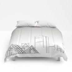 Boston Skyline Comforters