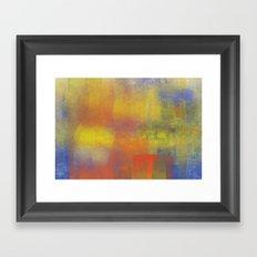 Flares Framed Art Print