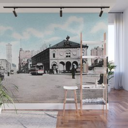 ca 1900 Herald Square New York City Wall Mural