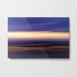 Skye Abstract Metal Print