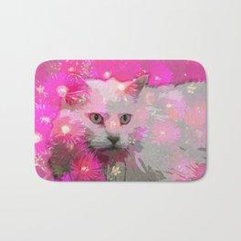 Bloomin' Kitty Bath Mat