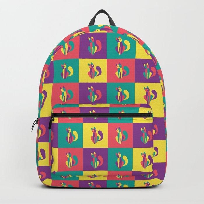 Pop goes the kitten Backpack