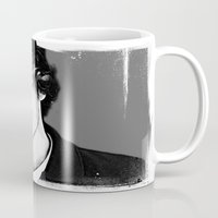 liam payne Mugs featuring Liam Payne by D77 The DigArtisT