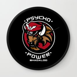 Psycho Power Wall Clock